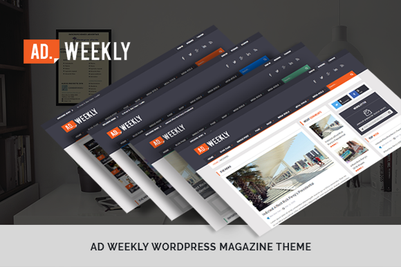 AD.Weekly Magazine WordPress Theme