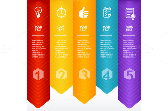 Infographic Colorful Template