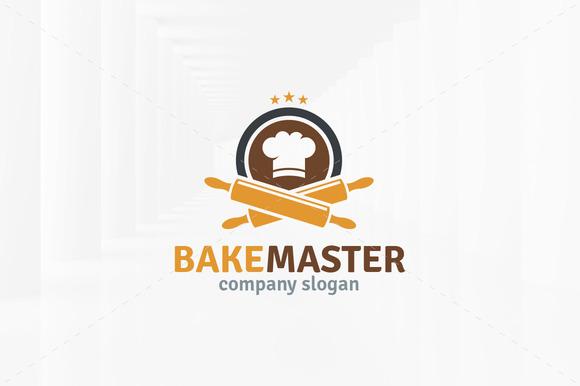 Bake Master Logo Template