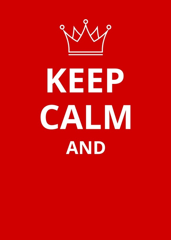 how to make a keep calm poster in photoshop