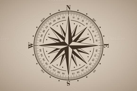 Vector Compass Rose 4