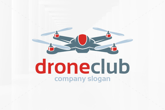 Drone Club Logo Template