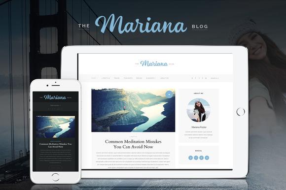 Mariana WordPress Personal Blog