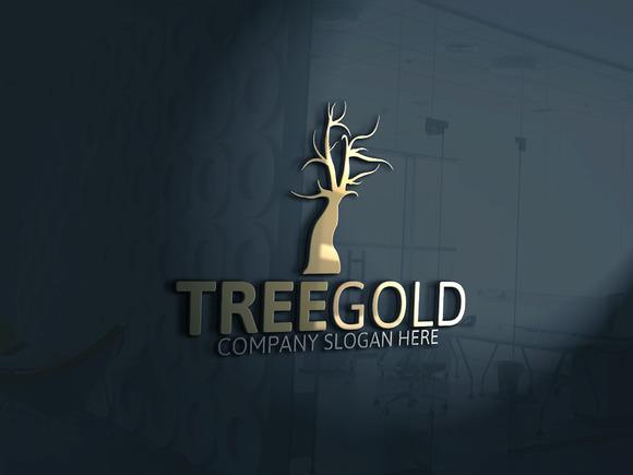 Tree Gold Logo