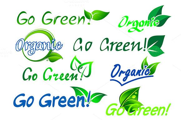 Organic Green Facts Ad Or Promo Designtube Creative