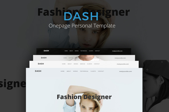 Dash Onepage Personal