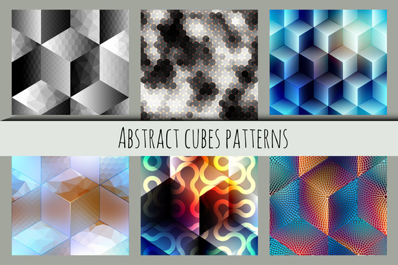 Abstract Cubes Patterns