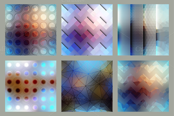 Blurred Abstract Patterns