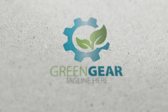 Green Gear Logo