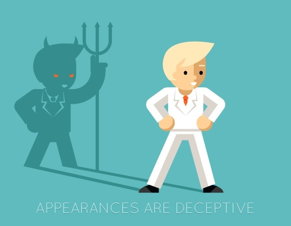 deceptive appearance The deceptive appearance of boo radley by logan stewart reality vs appearance kind and warmhearted in to kill a mockingbird many rumors are spread about boo such as .