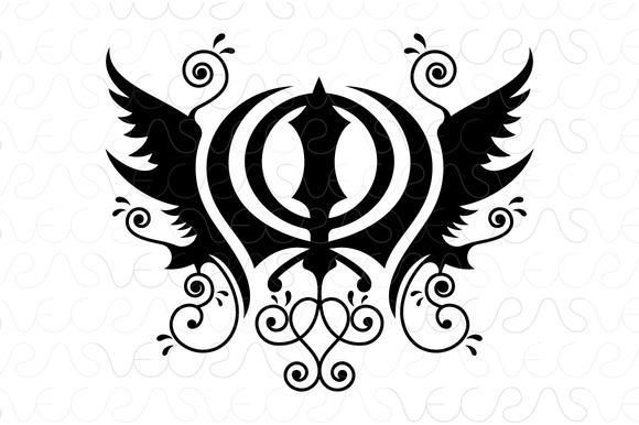 Khanda Sahib Sikhism Religious Vecto