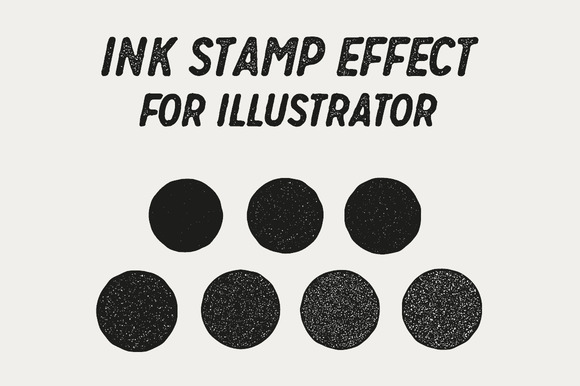 how to make the effect of rubber stamp