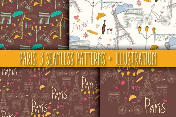 Paris 3 Patterns 1 Illustration