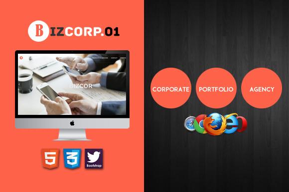 Biz Corp Premium HTML5 Template 01