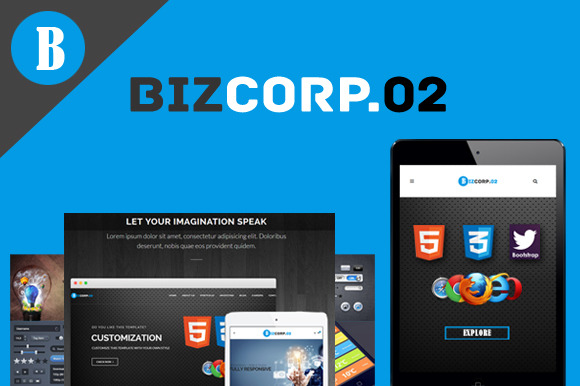 Biz Corp Premium HTML5 Template 02