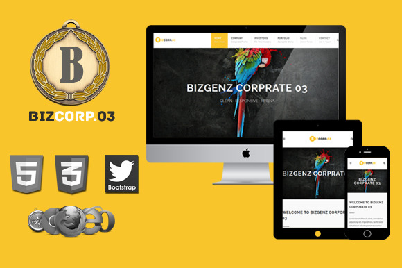 Biz Corp Premium HTML5 Template 03