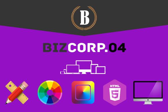 Biz Corp Premium HTML5 Template 04