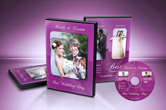 Color Wedding DVD Cover
