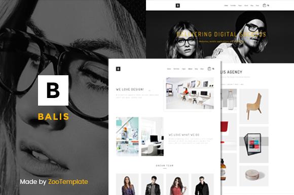 Balis Portfolio WordPress Theme