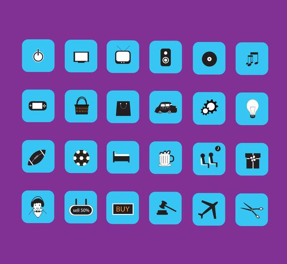 Icon Vector Arts Work
