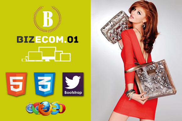 Biz E-Commerce HTML5 Template 01