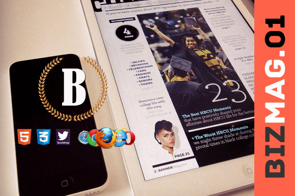 Biz Mag 01 Premium HTML5 Template