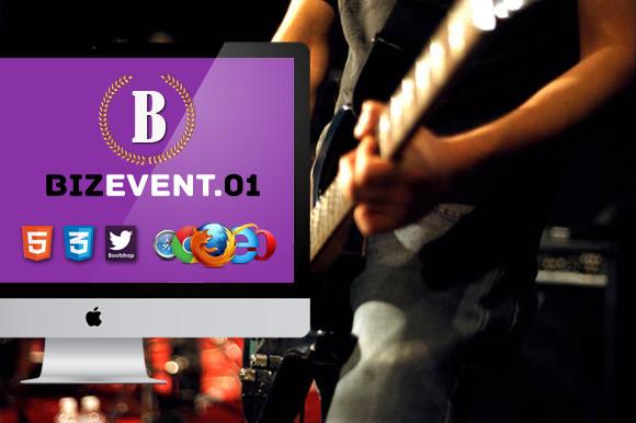 Biz Event 01 Premium HTML5 Template