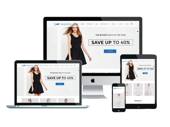 AT Fashion Shop Joomla Template