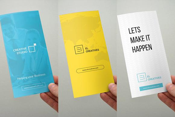 Bundle Trifold Brochures 3 In 1