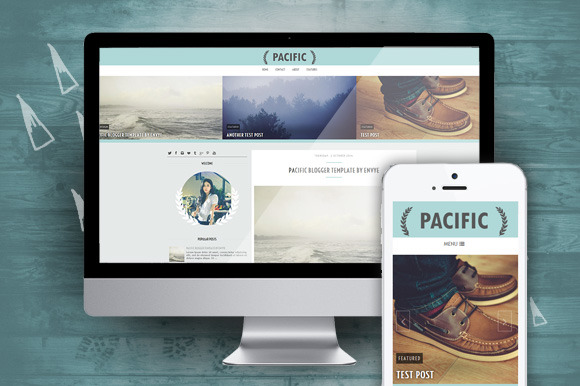 Pacific Responsive Blogger Theme