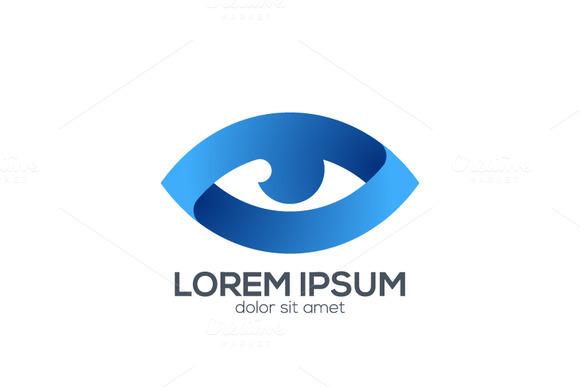 Logo With Three Blue People » Designtube - Creative Design ...