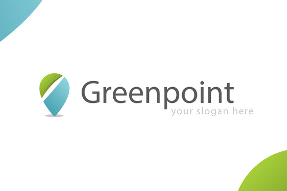 Greenpoint Unique Modern Logo