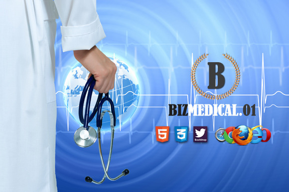 Biz Medical 01 Premium HTML Template