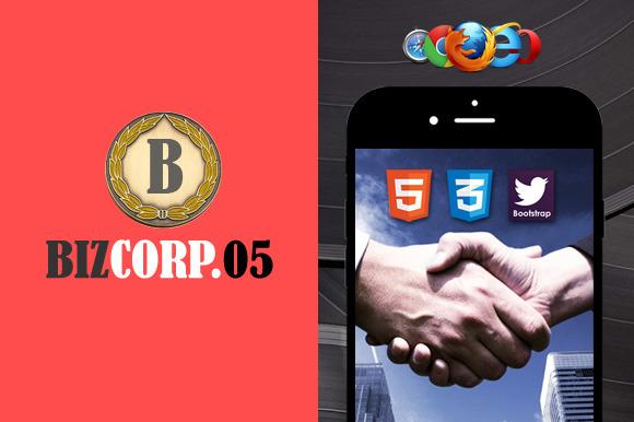 Biz Corp 05 Premium HTML5 Template