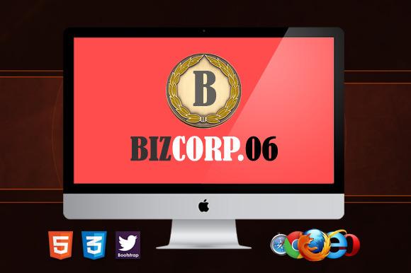 Biz Corp 6 Premium HTML5 Template