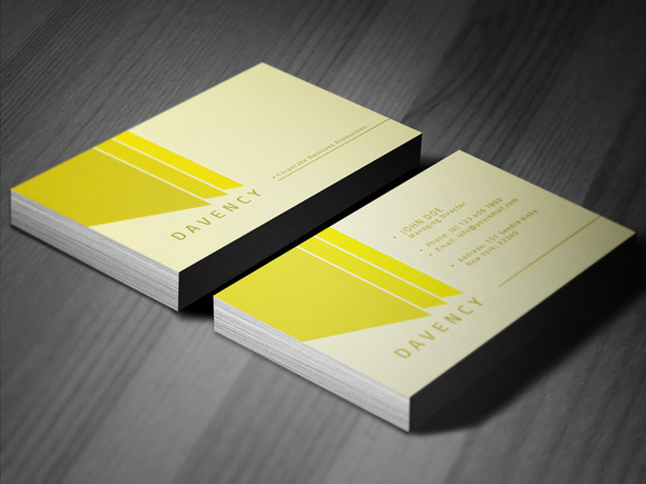 Simple Clean Business Card
