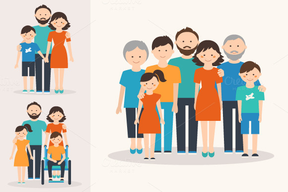 family and different types The definitions are limited to number of individuals and give nothing about the functions of a family there are different societies and different cultures.