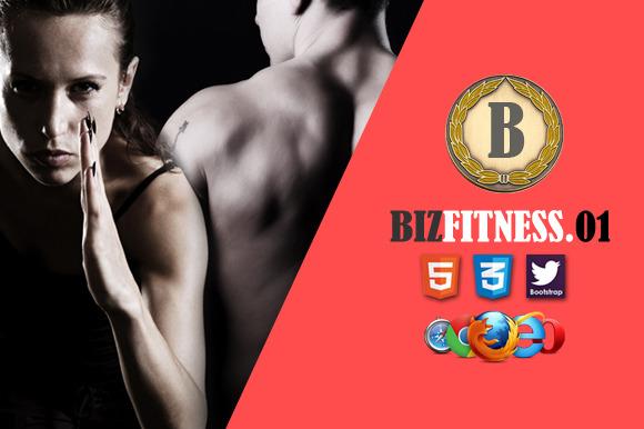 Biz Fitness 1 Premium HTML5 Template