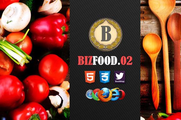 Biz Food 02 Premium HTML5 Template