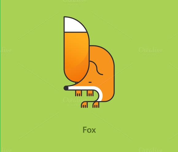 Simply Animals Fox