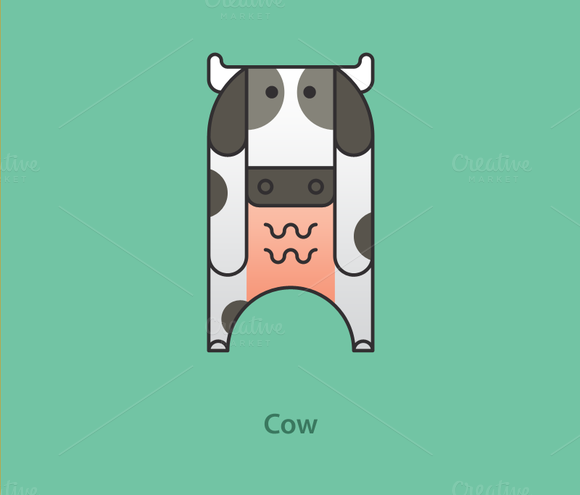 Simply Animals Cow