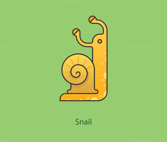 Simply Animals Snail