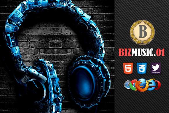 Biz Music 01 Premium HTML5 Template