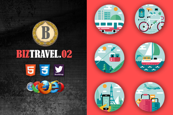 Biz Travel 02 Premium HTML5 Template