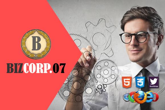 Biz Corp 07 Premium HTML5 Template