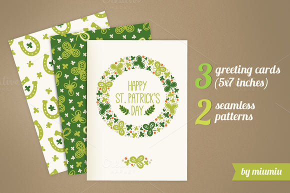 Greeting Cards For St Patrick S Day