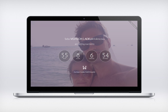 Wedding Countdown Responsive