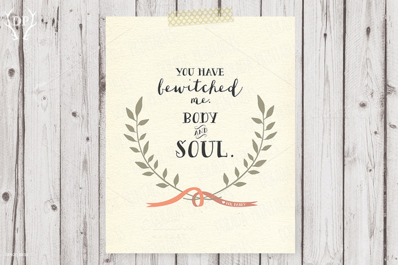 Mr Darcy Quote Printable Art