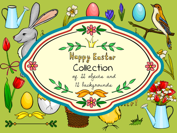Easter Cartoon Collection