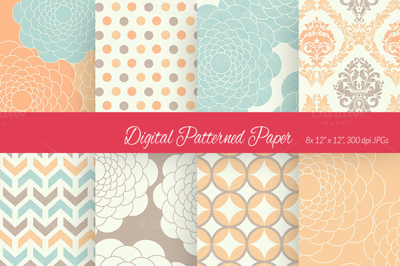 Digital Paper Colour Scheme 2